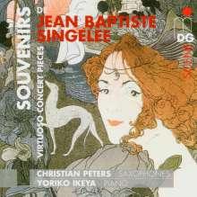 Jean Baptiste Singelee (1812-1875): Konzertstücke für Saxophon & Klavier, CD
