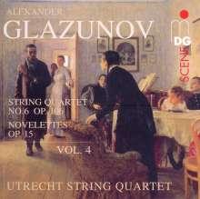 Alexander Glasunow (1865-1936): Streichquartette Vol.4, CD