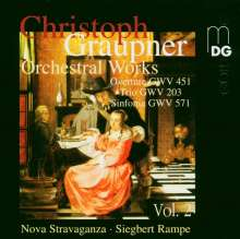 Christoph Graupner (1683-1760): Orchesterwerke Vol.2, CD