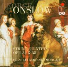 Georges Onslow (1784-1852): Streichquintette opp.34 & 35, CD