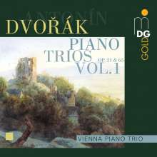 Antonin Dvorak (1841-1904): Klaviertrios Vol.1, CD