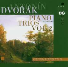 Antonin Dvorak (1841-1904): Klaviertrios Vol.2, CD