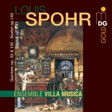 Louis Spohr (1784-1859): Klavierquintett op.130, 2 CDs