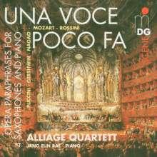 Alliage Quartett - Una Voce poco fa, CD