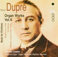 Marcel Dupre (1886-1971): Orgelwerke Vol.6, CD