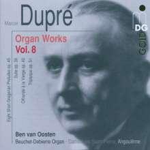 Marcel Dupre (1886-1971): Orgelwerke Vol.8, CD