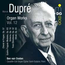 Marcel Dupre (1886-1971): Orgelwerke Vol.12, CD