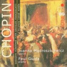 Frederic Chopin (1810-1849): Arrangements für Violine & Klavier, CD