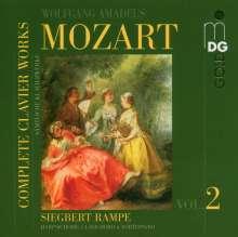 Wolfgang Amadeus Mozart (1756-1791): Sämtliche Klavierwerke Vol.2, CD