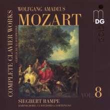 Wolfgang Amadeus Mozart (1756-1791): Sämtliche Klavierwerke Vol.8, CD