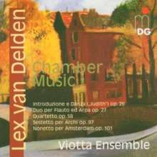 Lex van Delden (1919-1988): Kammermusik, CD