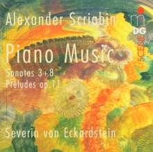 Alexander Scriabin (1872-1915): Klaviersonaten Nr.3 & 8, CD