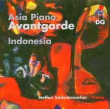 Steffen Schleiermacher - Asia Piano Avantgarde (Indonesia), CD