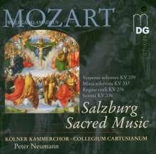 "Wolfgang Amadeus Mozart (1756-1791): Messe KV 337 ""Missa solemnis"", Super Audio CD"