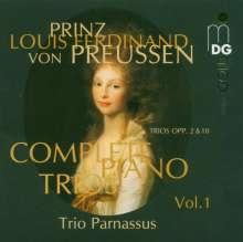Louis Ferdinand Prinz von Preussen (1772-1806): Sämtliche Klaviertrios Vol.1, CD