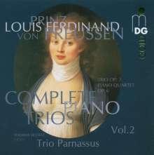 Louis Ferdinand Prinz von Preussen (1772-1806): Sämtliche Klaviertrios Vol.2, CD