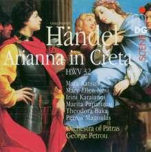 Georg Friedrich Händel (1685-1759): Arianna in Creta, 3 CDs