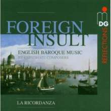 Foreign Insult - English Baroque Music, CD