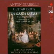 Anton Diabelli (1781-1858): Werke für Gitarrenduo, CD