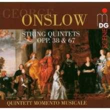 Georges Onslow (1784-1852): Streichquintette opp.38 & 67, CD