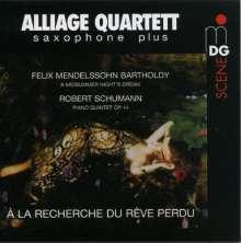 Alliage Quartett - A La Recherche Du Reve Perdu, CD