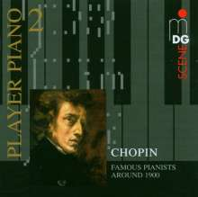 Player Piano Vol.2 - Famous Pianists around 1900 play Chopin, CD