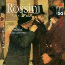 Gioacchino Rossini (1792-1868): Klavierwerke Vol.7, CD