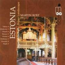 Martin Rost - Orgellandschaft Estland, CD
