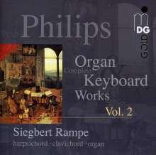 Peter Philips (1561-1628): Sämtliche Werke für Tasteninstrumente Vol.2, CD