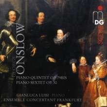 Georges Onslow (1784-1852): Klavierquintett op.79, CD