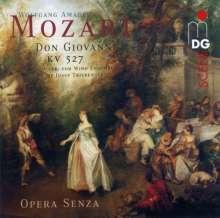 Wolfgang Amadeus Mozart (1756-1791): Harmoniemusik zu Don Giovanni (arr.Triebensee), CD