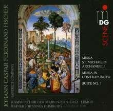 Johann Caspar Ferdinand Fischer (1656-1746): Missa Sancti Michaelis Archangeli, CD