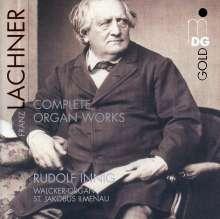 Franz Lachner (1803-1890): Sämtliche Orgelwerke, CD