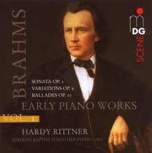 Johannes Brahms (1833-1897): Klavierwerke Vol.1 - Frühe Klavierwerke, SACD