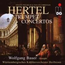 Johann Wilhelm Hertel (1727-1789): Trompetenkonzerte Nr.1-3, SACD