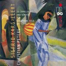 Sigfrid Karg-Elert (1877-1933): Sonate für Alt-Saxophon, CD