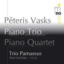 Peteris Vasks (geb. 1946): Klavierquartett, Super Audio CD