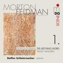 Morton Feldman (1926-1987): Die späten Klavierwerke Vol.1, CD