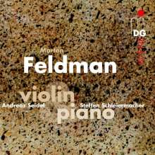 Morton Feldman (1926-1987): Werke für Violine & Klavier, 2 CDs