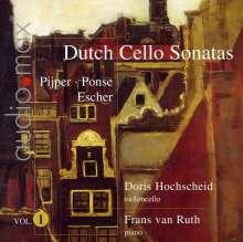 Doris Hochscheid - Dutch Sonatas für Cello & Klavier Vol.1, Super Audio CD