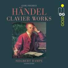 Georg Friedrich Händel (1685-1759): Cembalowerke, CD