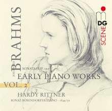 Johannes Brahms (1833-1897): Klavierwerke Vol.2 - Frühe Klavierwerke, Super Audio CD