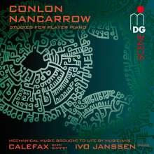Conlon Nancarrow (1912-1997): Studies für Bläserquintett & Klavier, CD