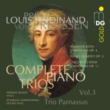 Louis Ferdinand Prinz von Preussen (1772-1806): Sämtliche Klaviertrios Vol.3, CD