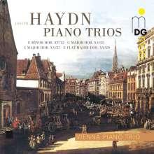 Joseph Haydn (1732-1809): Klaviertrios H15 Nr.12,25,27,29, CD