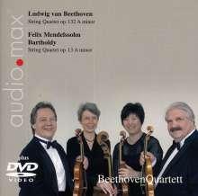 Ludwig van Beethoven (1770-1827): Streichquartett Nr.15, 1 Super Audio CD und 1 DVD