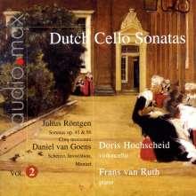 Doris Hochscheid - Dutch Sonatas für Cello & Klavier Vol.2, SACD