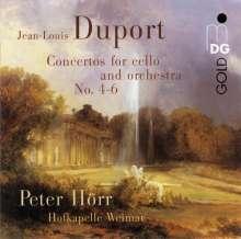 Jean-Louis Duport (1749-1819): Cellokonzerte Nr.4-6, Super Audio CD