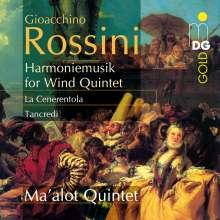 "Gioacchino Rossini (1792-1868): Harmoniemusiken zu ""Tancredi"" & ""La Cenerentola"", CD"