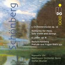 Arnold Schönberg (1874-1951): Stücke für Orchester op.16 Nr.1-5, SACD